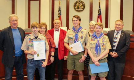 Three Forsyth County Students Recognized For Earning the Rank of Eagle Scout