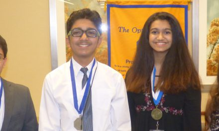 Forsyth Student Orators Recognized by Optimists