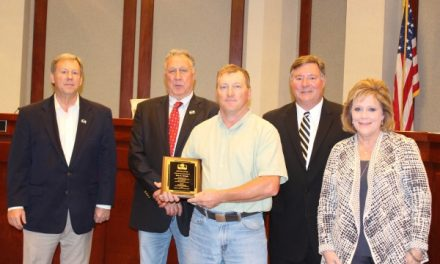 Forsyth County Employee Recognized for 25 Years of Service