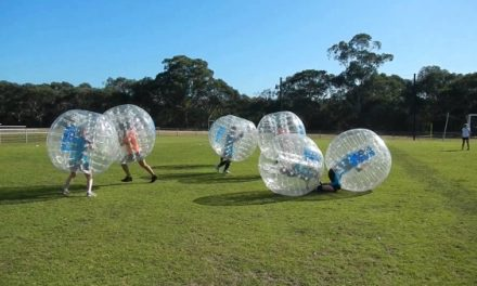 Bubble Soccer is Back! April 16, 2016