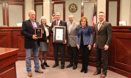 Forsyth County Commissioners Recognize County Manager Doug Derrer