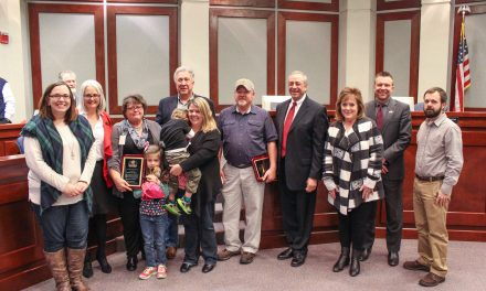 Forsyth County Employees Recognized by Commissioners