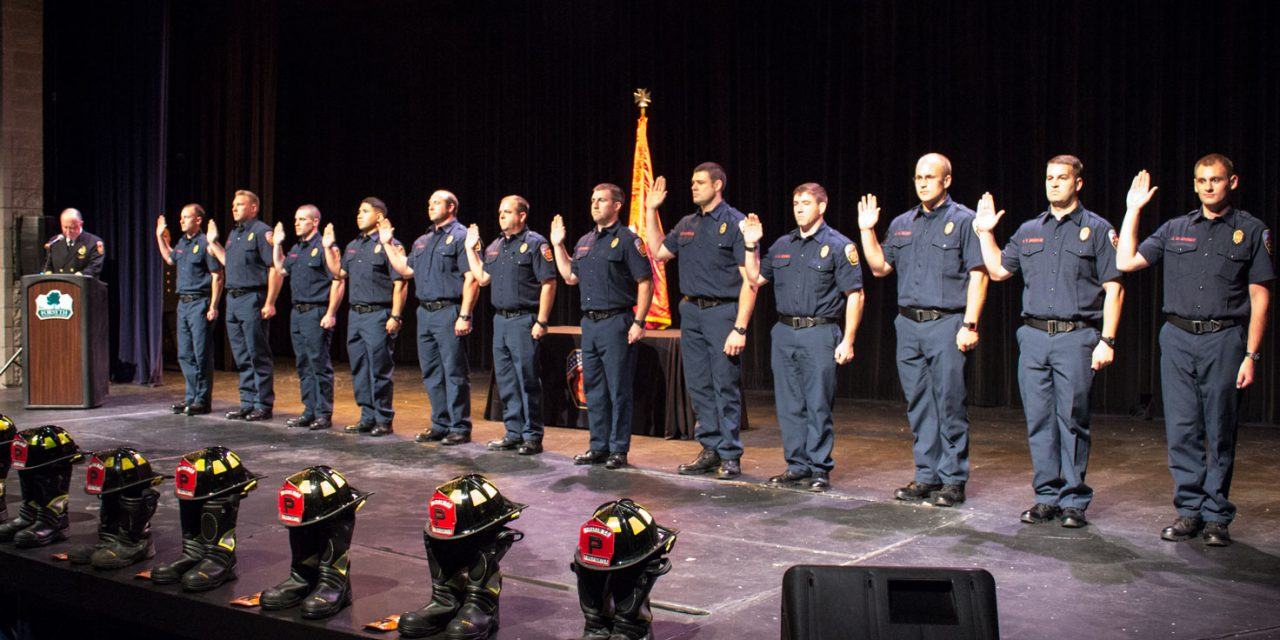 Forsyth County Fire Department Recognizes And Promotes Personnel, Graduates Recruit Class