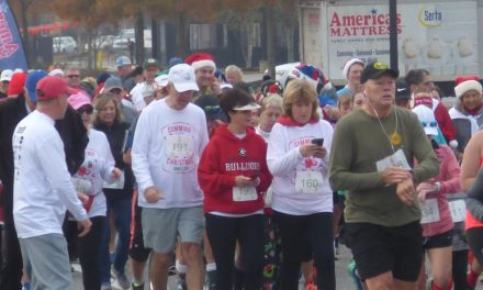 Jingle Jog Runners Support Forsyth County Foster Children