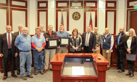 Forsyth Water & Sewer Department Wins Gold Award for Outstanding Operation