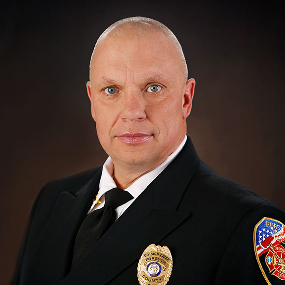 Barry Head To Be Sworn In As Fire Chief