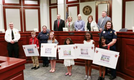 Winners of Forsyth County Fire Department's Ninth Annual Fire Safety Poster Contest Announced