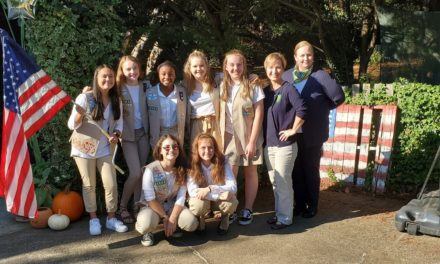 Six Forsyth County Teens Earn Girl Scout Silver Award for Sustainable Community Projects
