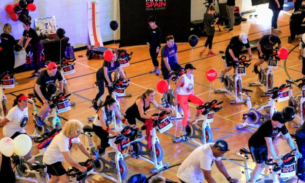 Mark Spain Real Estate Sponsoring YMCA  Spin-A-Thon Event